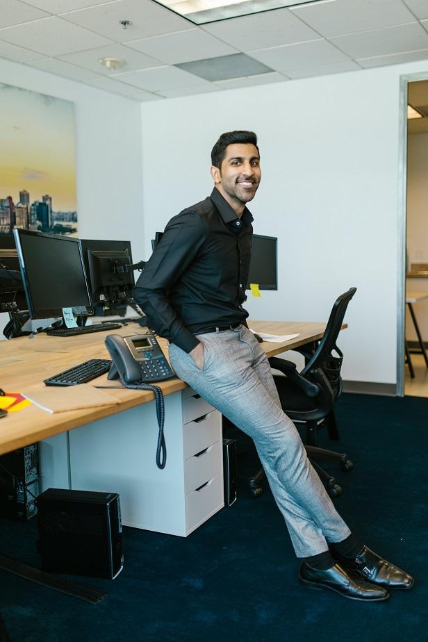 Een mannelijke inrichting in je kantoor